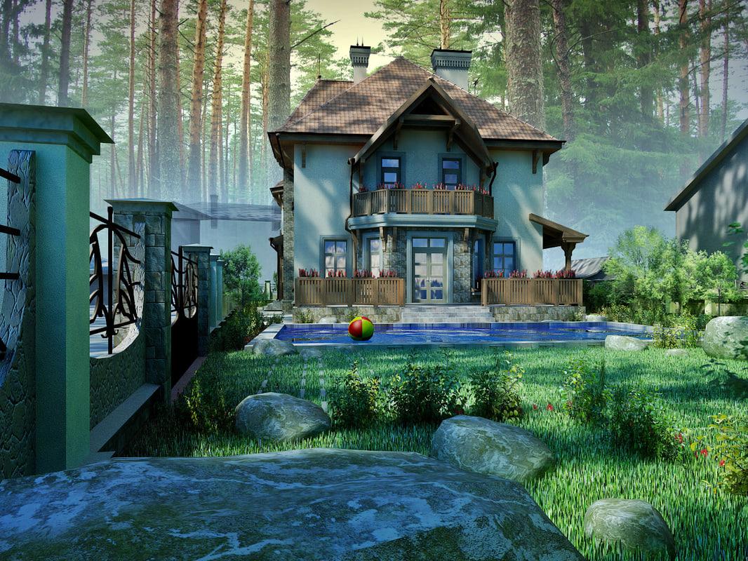 cottage woods loft pool max