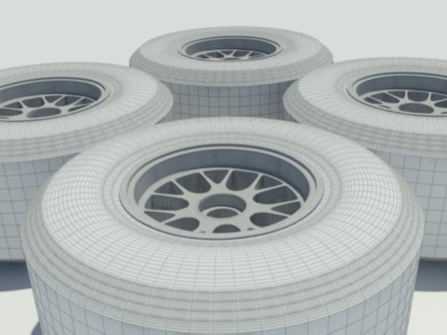 pirelli tyre f1 3d model