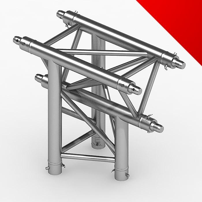 3d model truss eurotruss parts