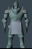 3d alphonse elric model