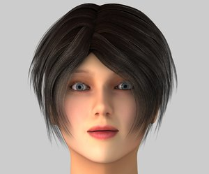 abby female character c4d