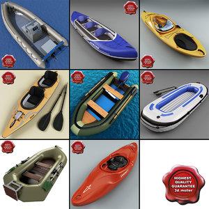 boats v1 3d model
