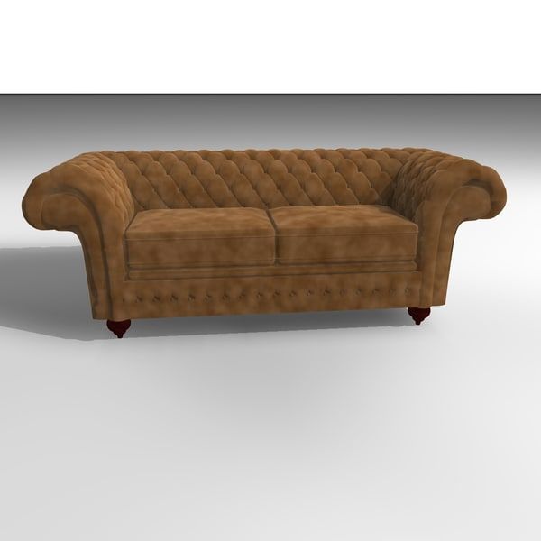 3d grosvenor velvet chair