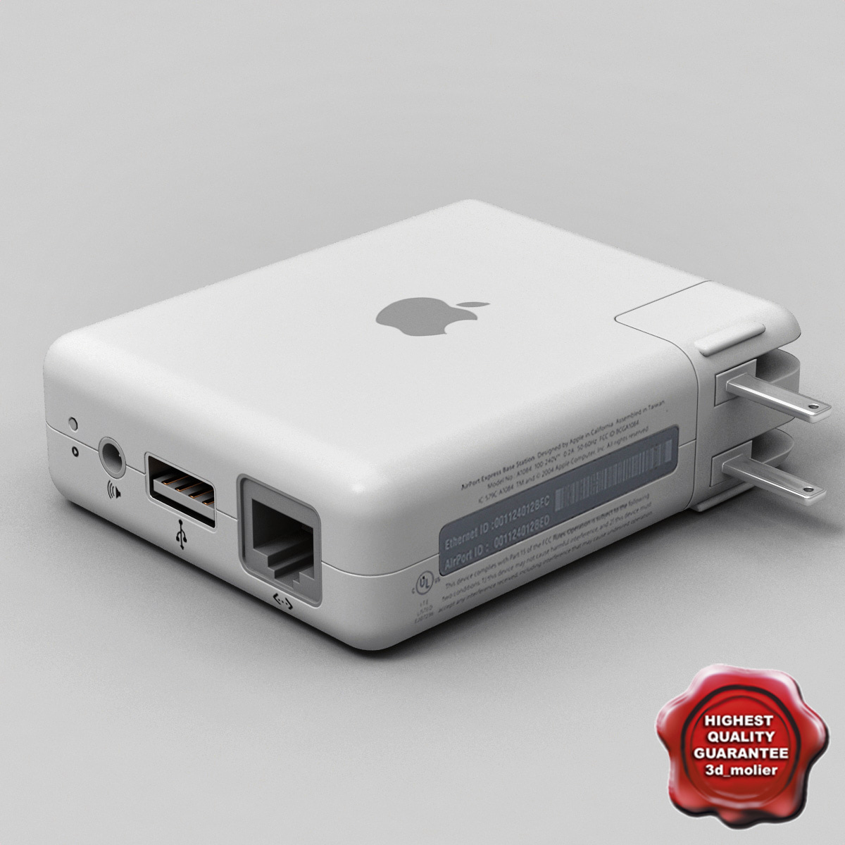 c4d apple airport express