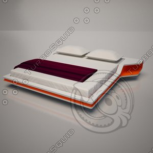 bed ayrton frighetto 3d max