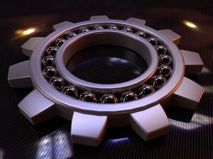 free c4d model bearing cog