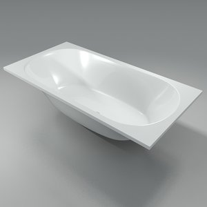 3d model bathtub bath tub