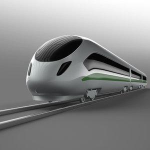 simple architectural 3d model