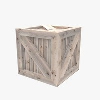 Wooden crate 05
