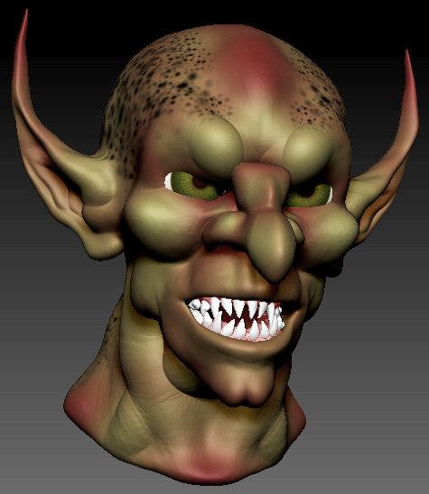 3d goblin monster