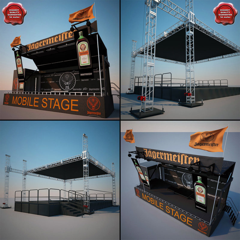 3ds max music stages