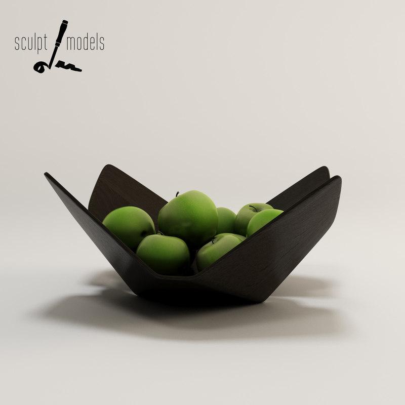 3d lorea bowl model