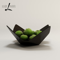 3d lorea bowl model