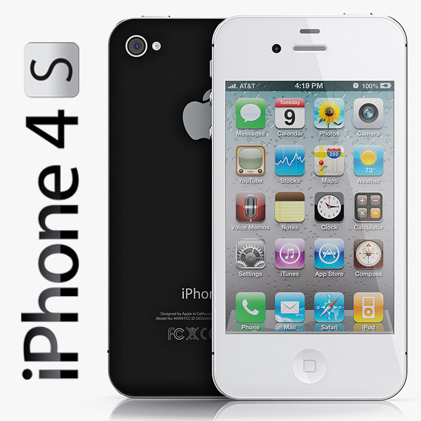 copy iphone 4s 3d model