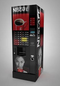 vending machine c4d