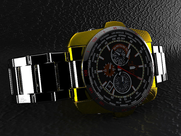 casio watch 3d max