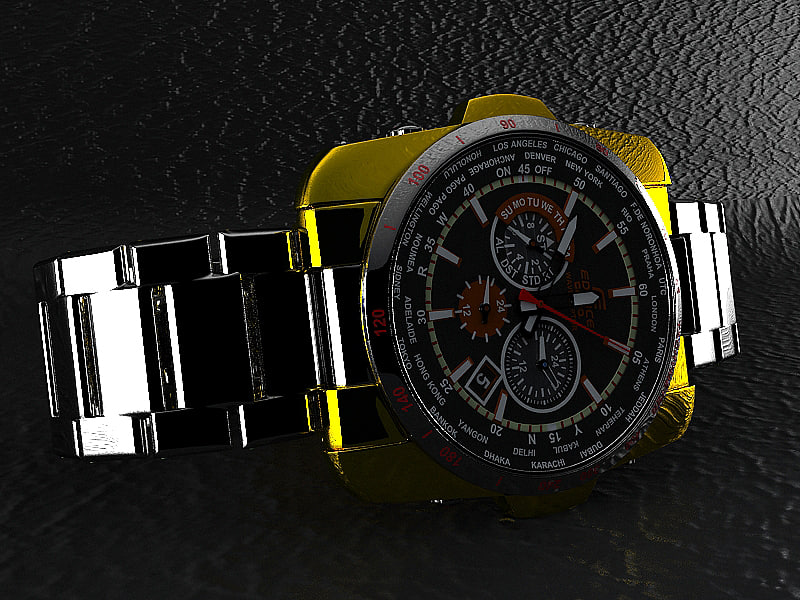 casio watch 3d max