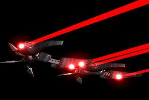 3d model drone ship