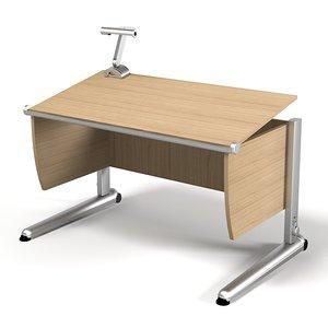 max desk work ren