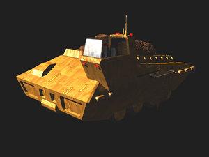 3d model land mover