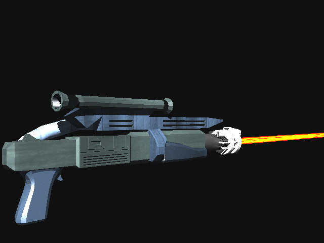 lightwave laser rifle
