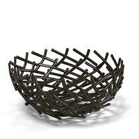 Oxidized Thatch Bowl Michael Arm modern art contemporray designer designers