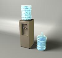 water cooler c4d