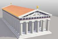 Greek Temple / Roman Temple