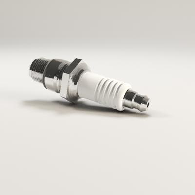 3d model of spark plugs