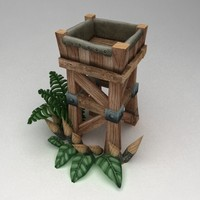 Wooden tower lvl2