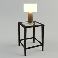 TABLE & LAMP