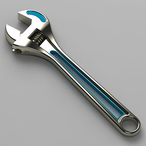 3d wrench model