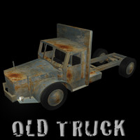 old truck obj