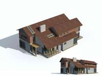 3d model of exterior rendering