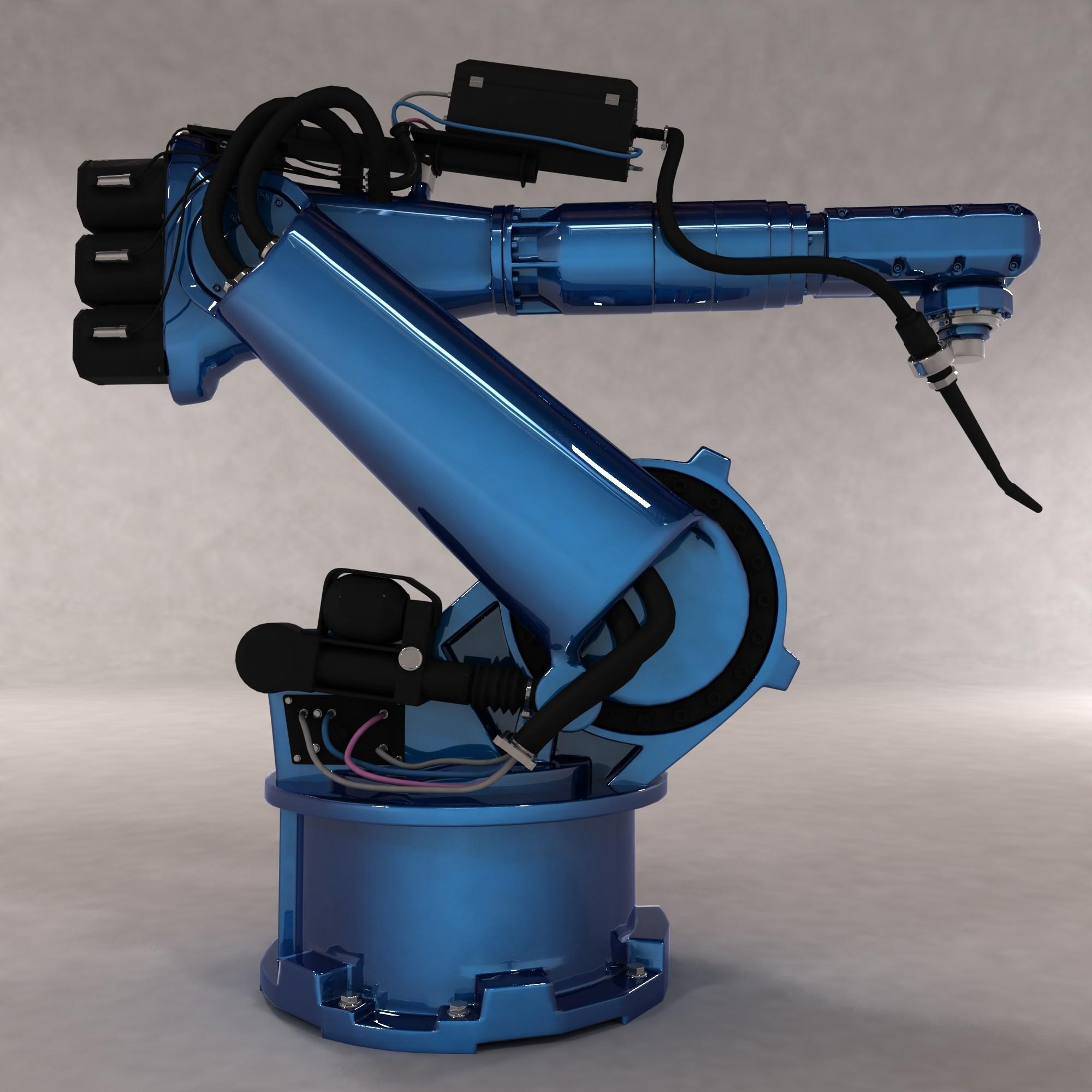 3ds factory robot