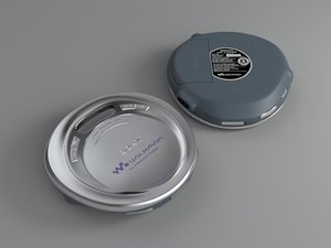 sony cd player 3d max