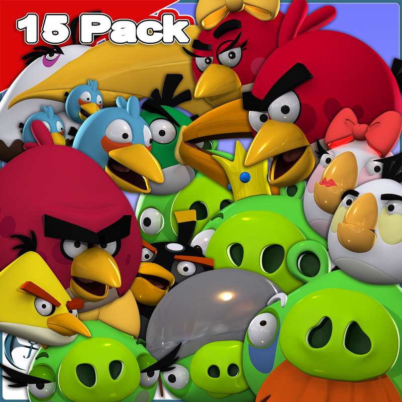 angry birds character 15 max