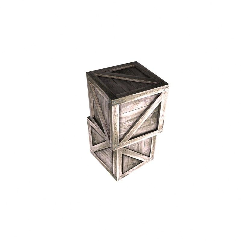 obj crate box