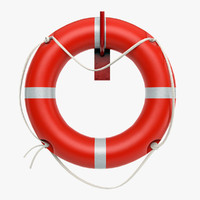 3d 3ds realistic lifesaver