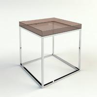 3d kiki cube table model