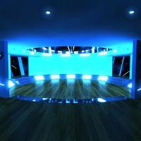 3ds max futuristic house