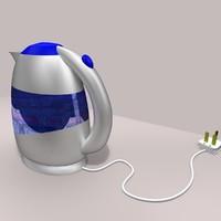 3d model kettle 2