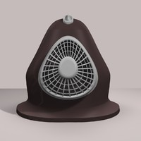 3ds max electric heater