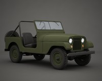 jeep military m38a1 3ds