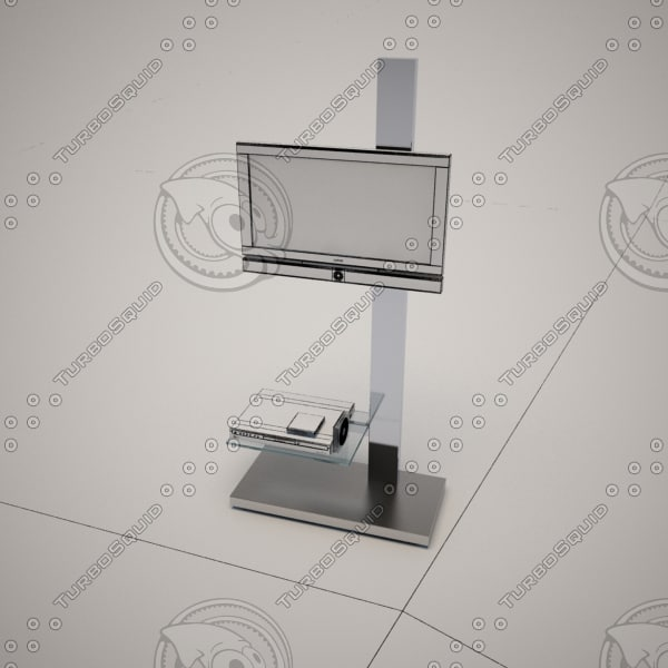 3d model cattelan italia tv stand