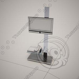 3d model cattelan italia tv stand