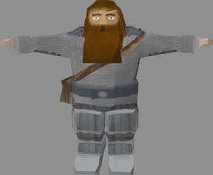 free 3ds model gnome