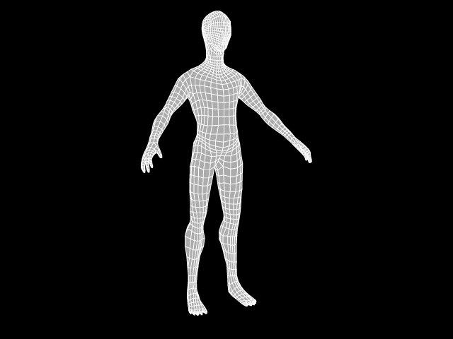 3d model base mesh