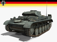 3d ii german armor