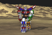 VOLTRON WALKING